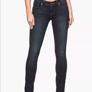 Paige Skyline Straight NWOT size 29/33 dark blue